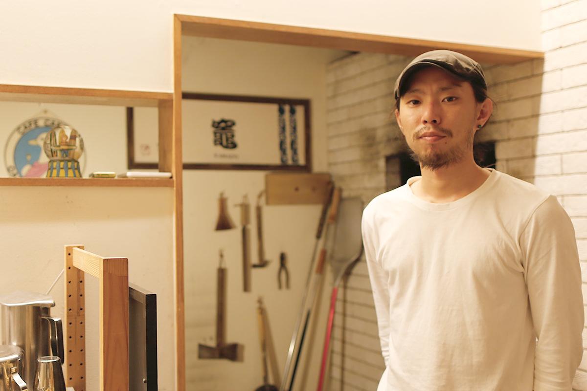 カフェ&ダイニング OASIS 店主 山本雄大さん