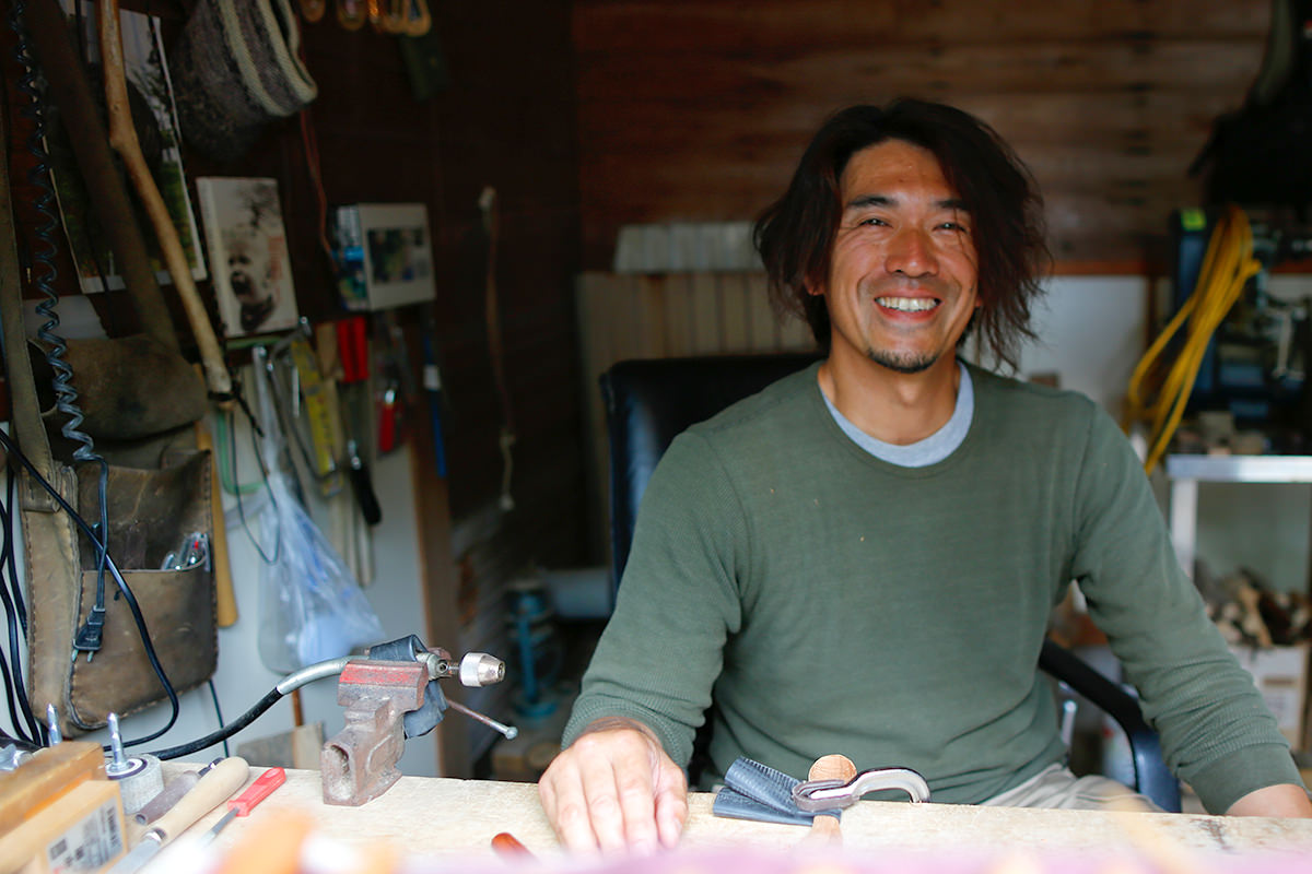 「木工職人」五郎さん(天達慶隆さん)