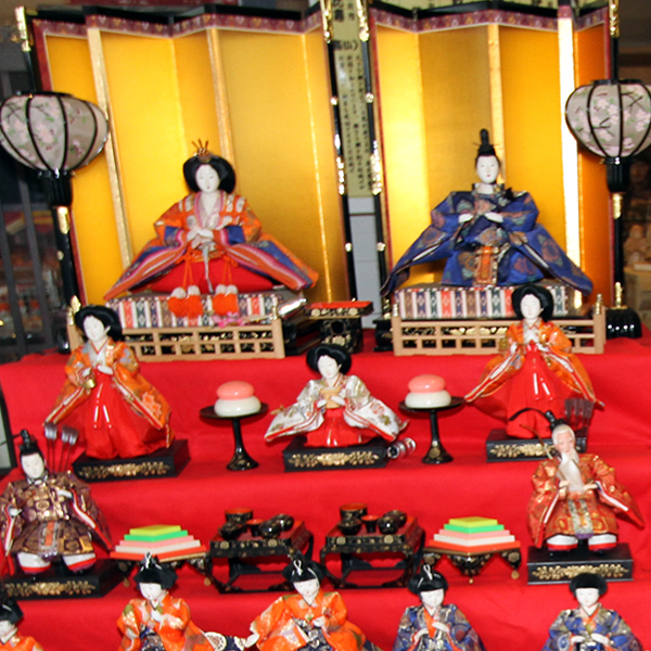 February through March: Tomo / Townscape Doll Festival